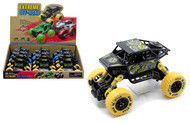 """Extreme Off Road 4X4 Dune Buggy Vehicle Box Of 12 5.5"""" Long Pull Back"""