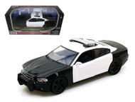 2011 Dodge Charger Pursuit Police 1/24 Scale Diecast Car Model By Motor Max 76935