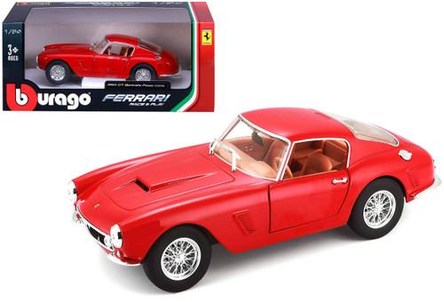 Ferrari 250 GT Berlinetta Passo Corto Red 1/24 Diecast Model By Bburago 26025