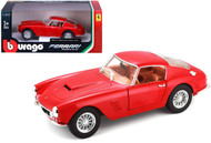 Ferrari 250 GT Berlinetta Passo Corto Red 1/24 Diecast Model By Bburago 26025