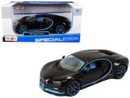 Bugatti Chiron 42 Black Limited Edition 1/24 Diecast Car Model By Maisto 31514