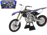 Yamaha YZ450F Dirt Bike Motorcycle 1/6 Scale By Newray 49643