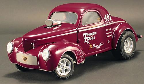 1941 Gasser Jr Thompson & Pool Burgundy Ltd To 600 1/18 Scale By ACME A 1800909