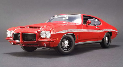 1972 Pontiac LeMans GTO Red Ltd To 384 1/18 Scale By ACME A 1801210