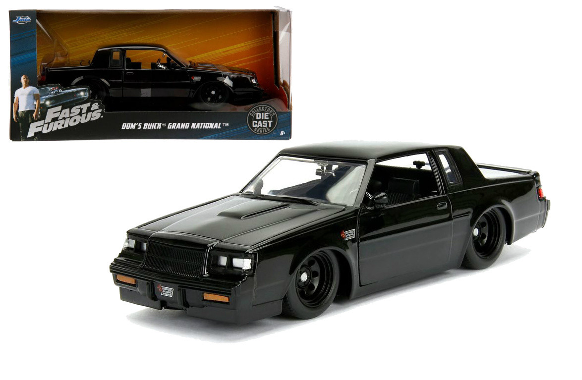 buick grand national doms fast & furious 1/24 scale diecast car