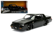 Buick Grand National Doms Fast & Furious 1/24 Scale Diecast Car By Jada 99539