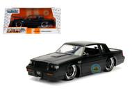1987 Buick Grand National Matte Black BTM BigTimeMuscle 1/24 Scale By Jada 30342