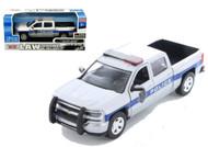 2017 Chevrolet Silverado 1500 LTI Z71 Truck Police 1/24 Scale By Motor Max 76966