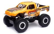Off Road Baja 4x4 Pickup Truck Orange 1/24 Scale Diecast Car Model By Newray 71476