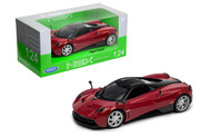 Pagani Huayra Red 1/24 Scale Diecast Car Model By Welly 24088