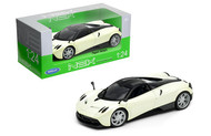 Pagani Huayra White 1/24 Scale Diecast Car Model By Welly 24088