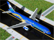 AMERICA WEST AIRLINES BOEING B757-200 BATTLE BORN 1/400 SCALE DIECAST MODEL BY GEMINI JETS GJAWE252