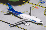 AIR TRANSAT AIRBUS A310-300 C-GLAT 1/400 SCALE DIECAST MODEL BY GEMINI JETS GJTSC1504