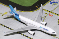 AIR TRANSAT AIRBUS A330-200 C-GTSN 1/400 SCALE DIECAST MODEL BY GEMINI JETS GJTSC1744