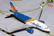 ALLEGIANT A319S SHARKLETS NEW LIVERY 1/400 SCALE DIECAST MODEL BY GEMINI JETS GJAAY1658