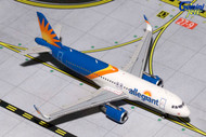 ALLEGIANT AIRBUS A320-200 SHARKLETS NEW LIVERY 1/400 SCALE DIECAST MODEL BY GEMINI JETS GJAAY1659