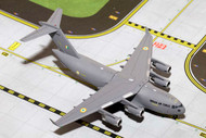 INDIAN AIR FORCE C-17 GLOBEMASTER III 1/400 SCALE DIECAST MODEL BY GEMINI JETS GMINF065