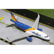 ALLEGIANT AIRBUS A319 SHARKLETS NEW LIVERY 1/200 SCALE DIECAST MODEL BY GEMINI JETS G2AAY663