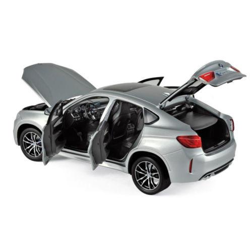 64033 norev 183200 bmw x6 m 2015 plata maqueta de coche 1:18 nuevo embalaje original