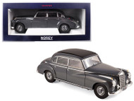1955 Mercedes Benz 300 Dark Gray 1/18 Scale Diecast Car Model By Norev 183591