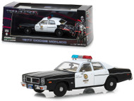 1977 Dodge Monaco Metropolitan Police The Terminator 1/43 Scale Diecast Car Model By Greenlight 86534