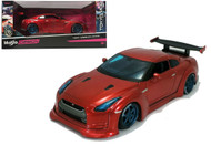 NISSAN GT-R RED TOKYO MOD JDM 1/24 SCALE DIECAST CAR MODEL BY MAISTO 32526