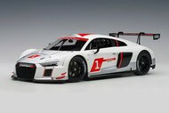 AUDI R8 LMS GENEVA PRESENTATION CAR 2016 1/18 SCALE DIECAST CAR MODEL BY AUTOART 81600