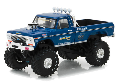 1974 Ford F-250 Bigfoot #1 The Original Monster Truck 1/43 Scale By Greenlight 86097