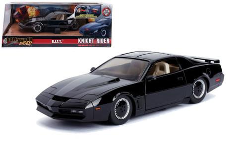 KITT KNIGHT RIDER HOLLYWOOD RIDES LIGHTS 1/24 SCALE DIECAST CAR BY JADA 30086