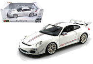 Porsche 911 GT3 RS 4.0 White 1/18 Scale Diecast Car Model By Bburago 11036