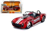 1967 SHELBY COBRA 427 S/C WITH BLOWER CANDY RED 1/24 SCALE BY JADA 30705