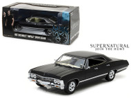 1967 Chevrolet Impala Sports Sedan Black Supernatural 1/24 Scale Diecast Car Model by Greenlight 84032