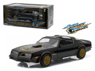 1977 Pontiac Trans Am Black Smokey And The Bandit 1/24 Scale Diecast Car Model By Greenlight 84013
