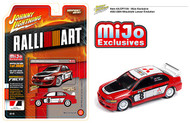 2004 Mitsubishi Lancer Evolution EVO MIJO 1/64 Scale By Johnny Lightning JLCP7125
