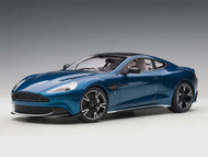 Aston Martin Vanquish S 2017 Ming Blue Clubsport White Pack 1/18 Scale Diecast Car Model AUTOart 70274
