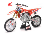 Honda CRF 450R #14 Cole Seely Dirt Bike Team Honda 1/6 By Newray 49603