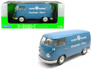 1963 Volkswagen T1 Bus Porschewagen 1/18 Scale Diecast Car Model By Welly 18053