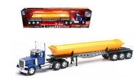 Peterbilt Model 379 Dump Truck Semi Truck & Trailer 1/32 Scale By Newray 10553