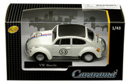 Volkswagen Beetle #53 Herbie VW Bug 1/43 Scale Model By Cararama 41184