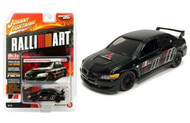 2004 Mitsubishi Lancer Evolution EVO Black MIJO 1/64 Johnny Lightning JLCP7122