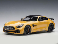Mercedes AMG GT R Solarbeam Yellow Metallic 1/18 Scale Diecast Car Model By AUTOart 76332