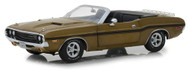 1970 Dodge Challenger R/T Convertible Luggage Rack Gold 1/18 By Greenlight 13527