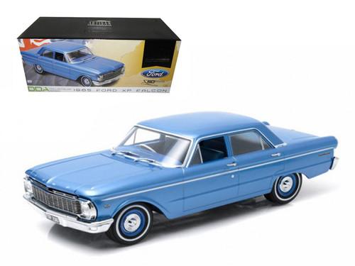 1956 Ford XP Falcon DDA Series Blue 1/18 Scale Diecast Car Model By Greenlight DDA001