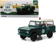 1967 Ford Bronco New York City Police NYPD 1/18 By Greenlight Artisan 19036
