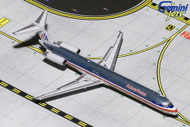 AMERICAN AIRLINES MD-80 N9621A POLISHED AIRPLANE 1/400 SCALE DIECAST MODEL BY GEMINI JETS GJAAL1794