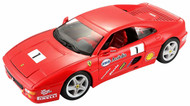 Ferrari F355 Challenge Red Racing 1/24 Scale Diecast Car Model By Bburago 26306