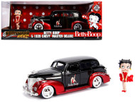 1939 Chevrolet Master Deluxe Betty Boop Figure 1/24 Scale By Jada Toys 30695