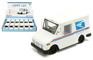 "US Postal Service LLV USPS Post Office Truck 5"" Long Box Of 12 Kinsmart KT 5112"