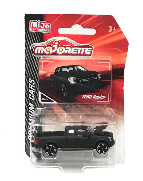 Ford Raptor F-150 Matt Black MIJO Exclusive 1/64 Scale By Majorette 3052