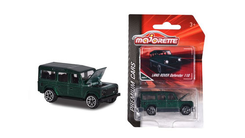 Land Rover Defender 110 Green MIJO Exclusive 1/64 Scale Diecast Car Model By Majorette 3052MJ6